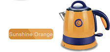 Orange Mini Stainless Steel Capacity 2L Home Kitchen Electric Kettle