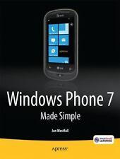 Windows Phone 7 Made Simple (Paperback or Softback)
