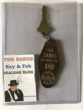 Vintage Sands Casino Hotel Las Vegas Nevada room key. Hialeah Turf Club