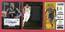 VICTOR OLADIPO CERTIFIED AUTOGRAPH + GAME USED JERSEY CARD #4/49 1 OF 1 ? 4 JSY#