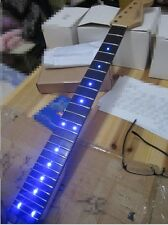 Inlay LED dots Rosewood Fretboard Canadian maple Electric Guitar Neck