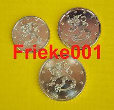 Finland - Finlande - 10,20 en 50 cent 2005 unc.