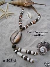 KAURI SHELL NECKLACE surf bead beach necklaces / n203vi
