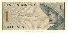 1964 BANK INDONESIA 1  SATU SEN