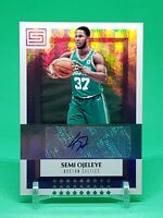 2017-18 Status Semi Ojeleye RC Auto, Freshman Signatures Rookie, Boston Celtics