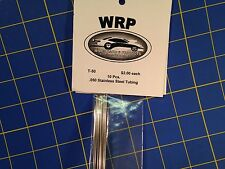 WRP T-50 Stainless Steel Tubing Full Pack .050 10 Pieces Drag slot car 1/24