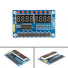 1Pcs 8-Bit LED Digital Tube 8 Keys TM1638 Display Module For AVR Arduino CA