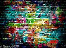 Retro Brick Wall Vinyl Studio Backdrop Photography Photo Background 7x5FT DZ662