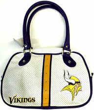 NFL Minnesota Vikings Womens Bowler Purse