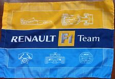 Formula One Genuine 2006 Renault F1 Flag - Factory Issued (Used)