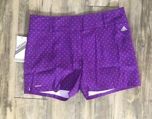 Adidas Women Adizero Performance Shorts Purple Size 8 NWT!