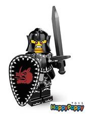 Lego 8831 Minifigur Serie 7 #14 Schwarzer Ritter Evil Knight ungeöffnet /Sealed