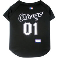 Chicago White Sox MLB Pets First Officially Licensed Dog Jersey Sizes XS-XXL