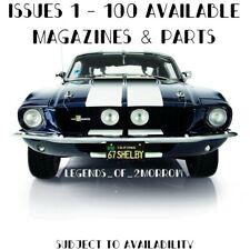 DEAGOSTINI BUILD YOUR OWN FORD MUSTANG 1967 SHELBY GT-500 - ALL ISSUES AVAILABLE