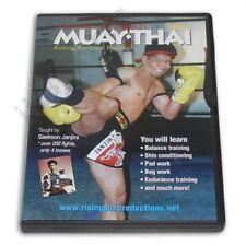 Mechanics Muay Thai Kickboxing #2 Kicking Knees Blocking Dvd Saekson Janjira