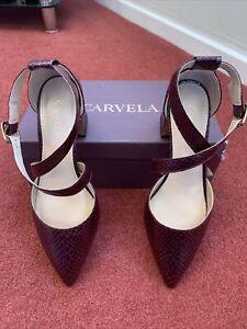 Carvela Koko Wine Courts Shoes Size Uk 5 BNWB