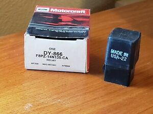 NEW Genuine Motorcraft  DY866  FORD LINCOLN MERCURY MULTI PURPOSE RELAY