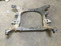 2006 06 LEXUS GS300 RWD FRONT CROSSMEMBER SUBFRAME ENGINE CRADLE OEM S