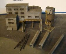 N Scale Building Walthers Diamond Coal Mine Built Painted Weathered N Scale 2020