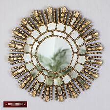 "Gold Decorative Mirrors 17.7"" - Sunburst Wall Mirror 'Elegant Sun""- Wall Decor"