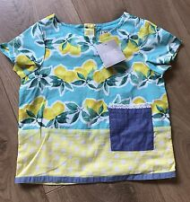 Next Girls Lemon Print Blouse / Top - Size 9-12 months - BRAND NEW WITH TAGS