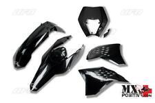 KIT PLASTICHE KTM EXC-F 250  2011 UFO PLAST KTKIT520001   NERO/BLACK
