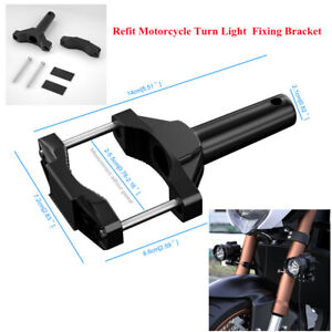 Off-Road Motorcycle Lights Fork Clamp Headlight Turn Signal Mount Holder Bracket