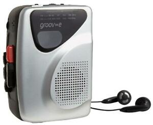 Groov-e - GV-PS525-SR - Personal Cassette Player With Radio