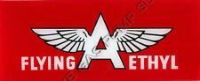 Flying A Ethyl Flat Ad Glass (AG408)