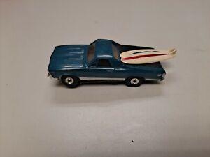 El Camino  With Surfboards Original HO Slot Car