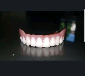 Protesi totale superiore, denti finti, Zähne, zahnersatz, prothese, dentures.