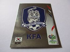 Sticker PANINI Fifa World Cup GERMANY 2006 N°493 Logo Écusson South Korea