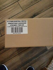 2014-15 PANINI PRESTIGE BASKETBALL MYSTERY ROOKIE HANGER BOX 36 COUNT BOX CASE