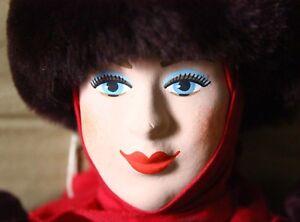 "Artist Handmade Russian doll 20"" Traditional Costume Artist Maslennikova"