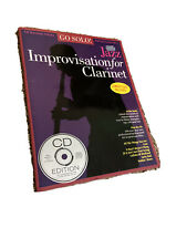Go Solo! Jazz Improvisation For Clarinet
