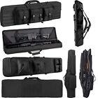 "36 42 46"" Tactical Carbine Rifle Range Gun Case Double Soft Padded Backpack Bag"