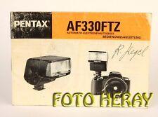 Pentax af 330ftz los originales manual de instrucciones 02769