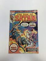 Vintage 1975 The Son Of Satan Marvel Comic Number 1