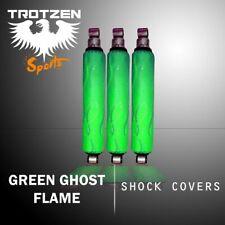 Yamaha raptor 660 Green Ghost Flame Shock Cover #mgh5111sc5111