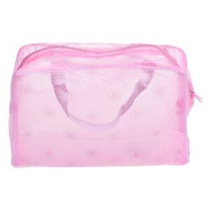 Women's Waterproof Makeup Bag Cosmetic Bags Travel Toiletry Wash Case Handbag~
