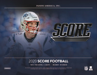 2020 PANINI SCORE FOOTBALL FACTORY SEALED HYBRID BOX