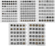 HUNGARY HUGE COLLECTION OF 228 COINS IN 5 ALBUM PAGES L1