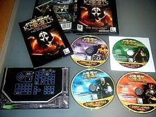 Star Wars Knights of the Old Republic II The Sith Lords PC 2005 UK original très bon état