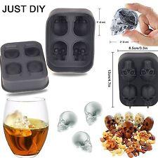 3D Schädel Silikon Eis Würfel Form Eis Würfel Maker Whisky trinken Ball Mold
