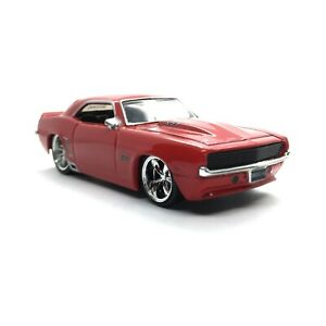 Jada Bigtime Muscle 1969 69 Chevrolet Chevy Camaro ZL-1 427 Car Red 1/64 Loose