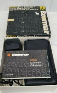 Bowmar Calculator Century Mark IV  Display 8 Digits, Red LED Model MX55 Vintage