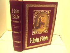 Vintage 1971 Regency Family Holy Bible King James Version Red Letter Edition-RED