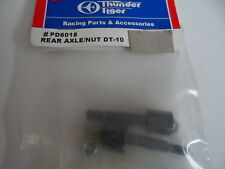 Nuevo Thunder Tiger Trasero Eje/Tuerca DT-10 PD6018