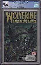 Wolverine: Dangerous Games #1 - CGC 9.6 - 1226190020