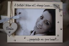 Cat Frame Personalised Photo Frame by Filly Folly 6x4/'/'